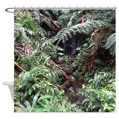 Tropical Forest 08 Shower Curtain
