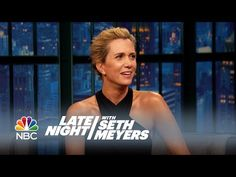 Kristen Wiig and Fred Armisen Dub Late Night Moments - Late Night with Seth Meyers - YouTube