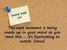 Watch what goes on in your head