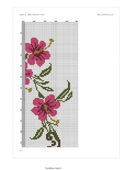 This Pin was discovered by Ayn Cross Stitch Flowers, Cross Stitch Patterns, Prayer Rug, Cross Art, Floral Border, Handicraft, Needlework, Diy And Crafts, Stencil