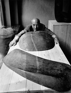 """vostok1:  Isamu Noguchi, (1904 – 1988) was a prominent Japanese American artist and landscape architect whose artistic career spanned six decades, from the 1920s onward. Known for his sculpture and public works. """"We are a landscape of all we have seen."""""""