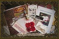 Scraps of Darkness ~ For The Alternative Scrapper - November Karma Kit
