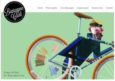 Single Speed, by Robert M Ball  #bike #illustration #vector #poligon