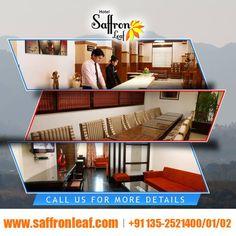 Best affordable Hotel in Dehradun Visit Us at: www.saffronleaf.com Or Contact Us at: 091135-2521400/01/02