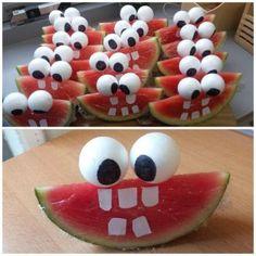Watermeloen gezicht