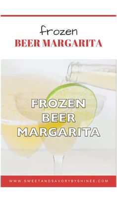 Budget Meals For A Week, Healthy Recipes On A Budget, Frozen Beer, Frozen Drinks, Holiday Drinks, Party Drinks, Beer Recipes, Drink Recipes, Refreshing Drinks