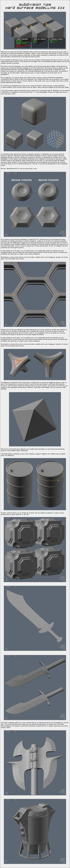 Subdivision Tips - Hard-Surface Modelling III by WhiteBlaizer