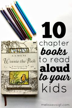 Do you want to read more chapter books aloud to your kids but don't know  where to start? There are so many options when it comes to books! We've  done all the work for you and picked the BEST 10 chapter books to read  aloud to your family. We have books suitable for toddlers and teenagers.  Cre