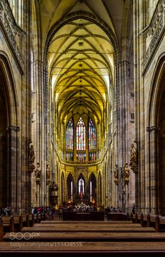 St Vitus Cathedral  Prague by drrana0207. @go4fotos