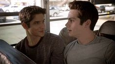 bromancing it up on teen wolf with scott and stiles