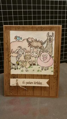 From The Herd from Stampin Up