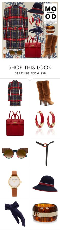 """Current Mood"" by secretstylistrome ❤ liked on Polyvore featuring Balmain, Samuele Failli, Mulberry, Alison Lou, Jacques Marie Mage, Elsa Peretti, Olivia Burton, Black, Current Mood and Dolce&Gabbana"