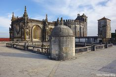 Only in Portugal and Scotland, the Templars had not been subjected to persecution after the Order's crash in France. Medieval Fortress, Late Middle Ages, Visit Portugal, Walled City, Knights Templar, 15th Century, Roman Empire, Ancient History, Barcelona Cathedral