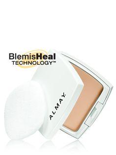 My fave powder! Almay Clear Complexion Pressed Powder in Light Medium