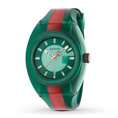 Shop the Gucci SYNC watch, by Gucci. Part of the Gucci SYNC line, designed with a colorful luminous dial and rubber strap that appeals to a sporty aesthetic. Sport Watches, Watches For Men, Men's Watches, Wrist Watches, Fashion Watches, Cartier, Nylons, Gucci Brand, Gucci Watch