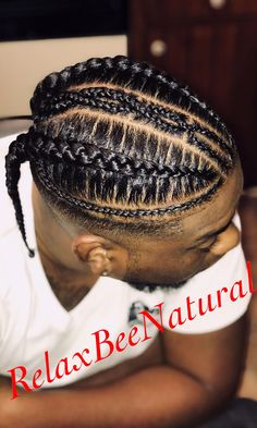 hairstyles with afro puff braid hairstyles hairstyles for kids hairstyles for 13 year olds to cornrows braided hairstyles hairstyles with clip in extensions hairstyles nigeria hairstyles quick and easy Cornrow Hairstyles For Men, Latest Braided Hairstyles, Haircuts For Men, Men's Hairstyle, Hairstyle Ideas, Cornrows, Braid Styles For Men, Braided Man Bun, Curly Hair Styles