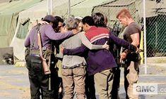 TWD - group hug - Coda - Fangirl - The Walking Dead