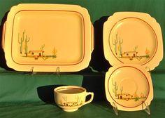Homer Laughlin Arizona pattern!  I want!