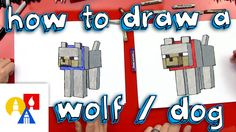 Hey art friends, learn how to draw a Minecraft wolf with us! Grab a marker and paper and follow along. EMAIL A PHOTO OF YOUR ART: myart@artforkidshub.com MAI...
