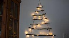 Egyszerű és olcsó karácsonyi faldísz - Tudatosan Élők