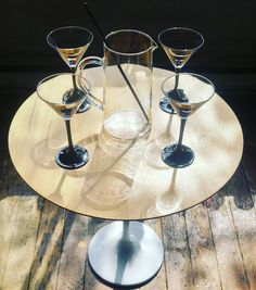 Freaky Friday anybody for a martini... Luminarc France 1980s ... #inspiration #studio1484 #france #luminarc