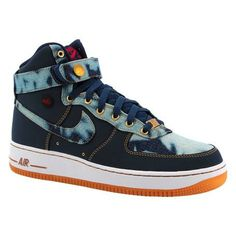 the latest 8b364 8d6e0 Tênis Nike Air Force 1 High 07 Denim Masculino   Tênis Masculino é na Artwalk  Air