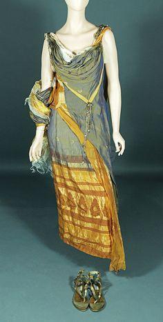 Tertulla's (Katherine Kennard) Dress And Sandals