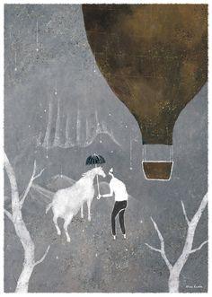 """akira-kusaka-illustration: """" © Akira Kusaka """""""