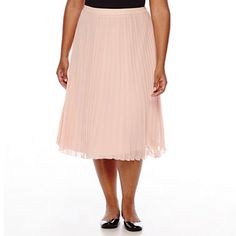 jcpenney.com | Boutique+ Pleated Skirt - Plus