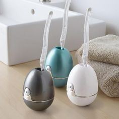 Zapi UV Toothbrush Sanitizer: the UV light sanitizes in just 6 minutes and auto shuts off when finished. Can be used with any manual toothbrush or small electric head.