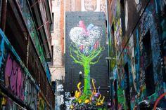 Melbourne, graffiti