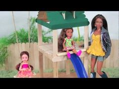 How to make a doll playground - myfroggystuff - youtube video