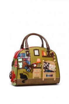 TUA BY BRACCIALINI Small fabric bags - Borse - Fashionis Medium Bags 4c08c483b5e