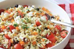 Smart Balance Recipe - Mediterranean Orzo Pasta Salad