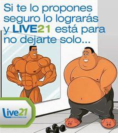 ENTRENA, INSISTE, PERSISTE ¡RESISTE! #LIVE21 #GIMNASIO #FITNESS #TONALA #RetoLive21 #CROSSFIT