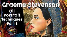 Oil Painting Techniques, Oil Portrait, Step By Step Painting, Portraits, Colour, Artist, Youtube, Life, Color