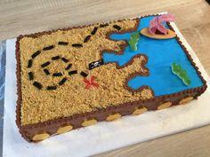 Découvrez ma recette de gâteau pirate en vidéo : cette carte aux trésors facile à réaliser régalera vos petits pirates à coup sur !