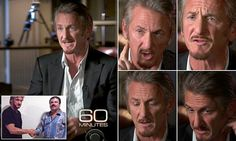 Sean Penn's body language reveals truth behind the El Chapo interview   Daily Mail Online