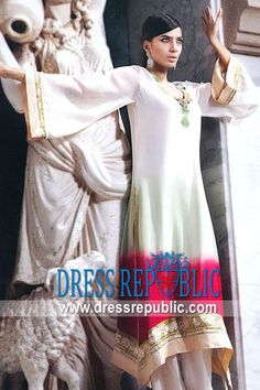 Off White Solvika, Product code: DR5175, by www.dressrepublic.com - Keywords: Online Salwar Kameez Shopping 2012 Toronto, Canada Latest New Salwar Suit Designs 2012, Canada