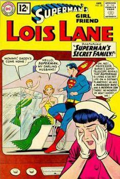 1950s: 'Superman's Girlfriend Lois Lane' Comic Covers