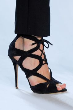 Monique Lhuillier Spring 2013 #Shoes. <3