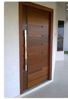 House Main Door Design, Flush Door Design, Wooden Front Door Design, Home Door Design, Bedroom Door Design, Wooden Glass Door, Modern Entrance Door, Modern Exterior Doors, Main Entrance Door Design