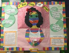 A Bad Case of Stripes Reading Fair tri-fold campus & district entry by Bellasdiary Santo Nino Elementary Reading Fair, Reading Club, Reading Lessons, Kids Reading, Teaching Reading, Fair Projects, Book Projects, School Projects, Kids Activity Books