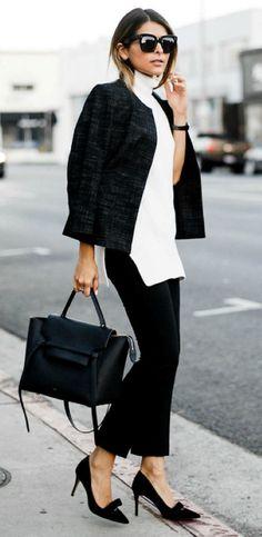 Women outfit turtleneck sleeveless (41)