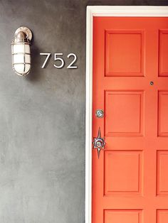 What's the Best Color to Paint Your Front Door? Your Guide to Finding The One via @MyDomaine
