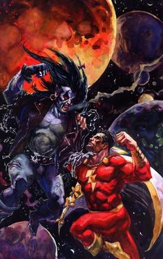 Lobo and Shazam by Dan Brereton.
