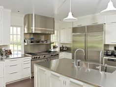 Custom stainless kitchen items by Focal Metals