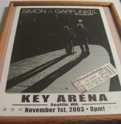 100_8805 Simon Garfunkel, Old Friends, Seattle, Tours, Concert, Concerts