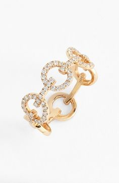 Bony+Levy+Diamond+Link+Band+Ring+(Nordstrom+Exclusive)+available+at+#Nordstrom