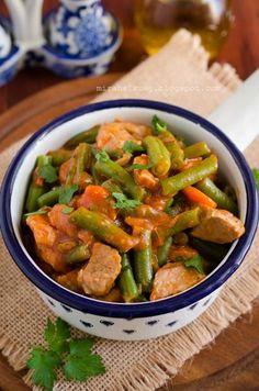 Mirabelkowy blog: Bałkańska boranija z mięsem